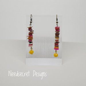 Handcrafted Color Shell Fashion Earrings - Gifts